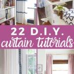 DIY curtain tutorials