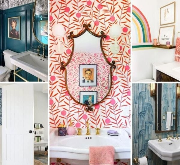 25 Stunning Powder Room Makeovers