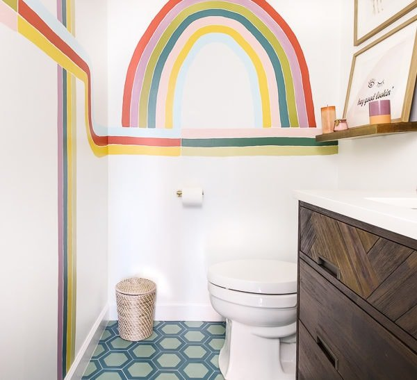 Our 7-Day Powder Room Renovation Video