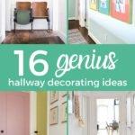 genius hall decorating ideas