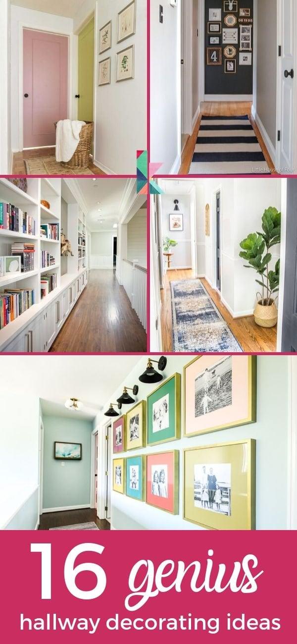 genius hallway decorating ideas
