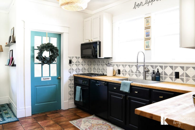 kitchen makeover for under $1,000
