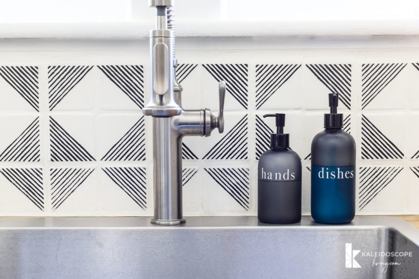 How To Paint Your Tile Backsplash In 5 Simple Steps Kaleidoscope Living