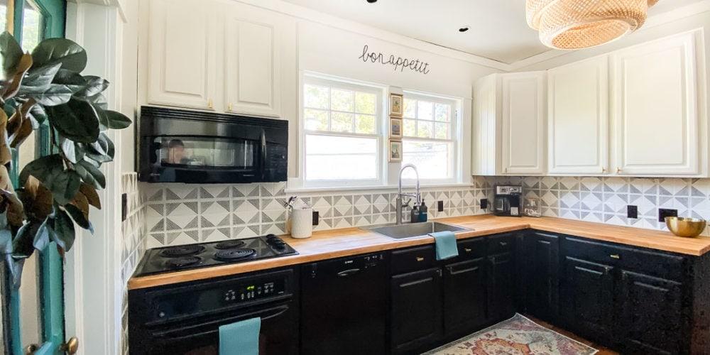 budget-friendly kitchen makeover