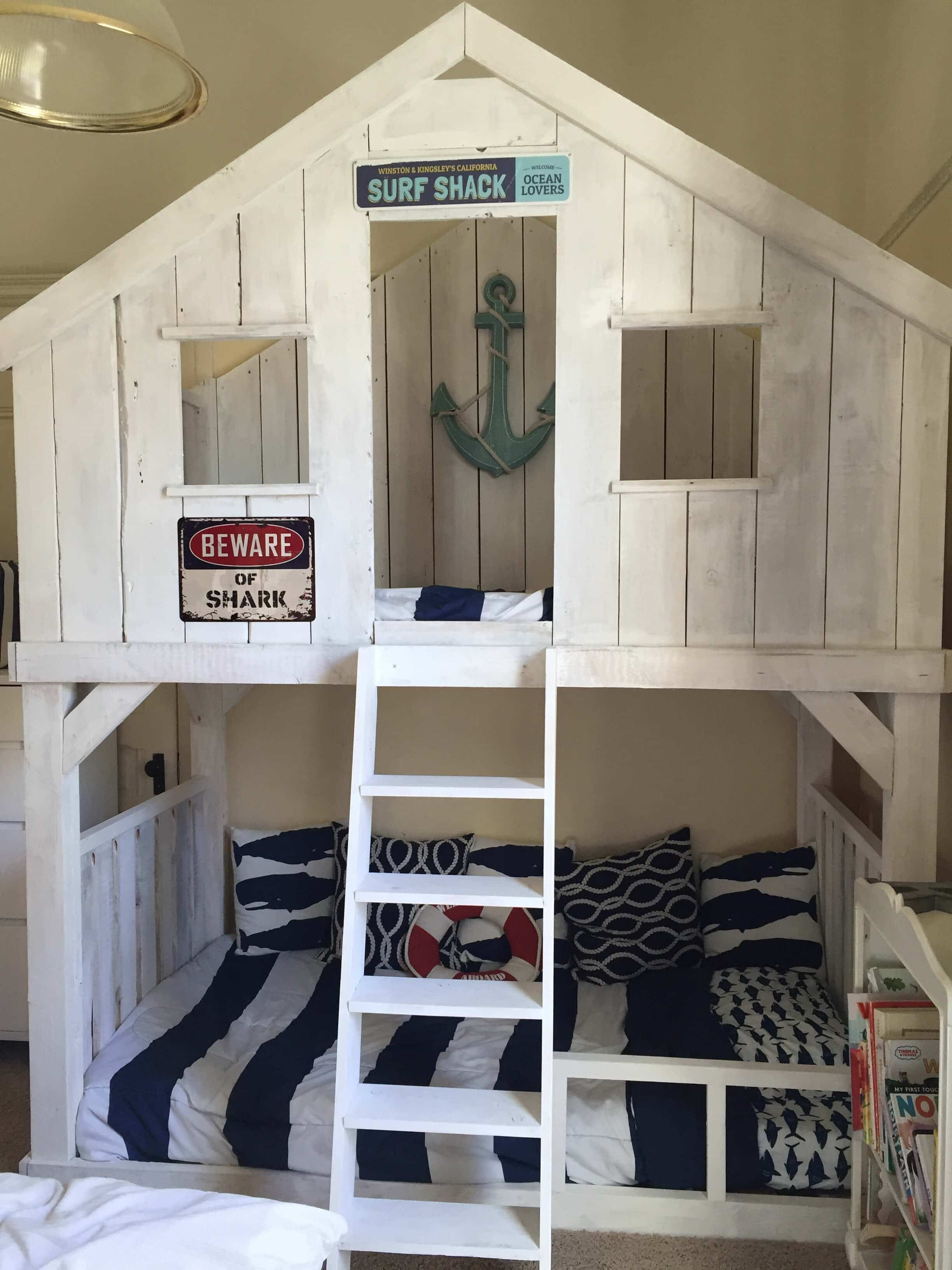 Picture of: 16 Cool Diy Bunk Beds Kaleidoscope Living