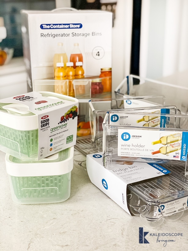 refrigerator organization containers from the container store