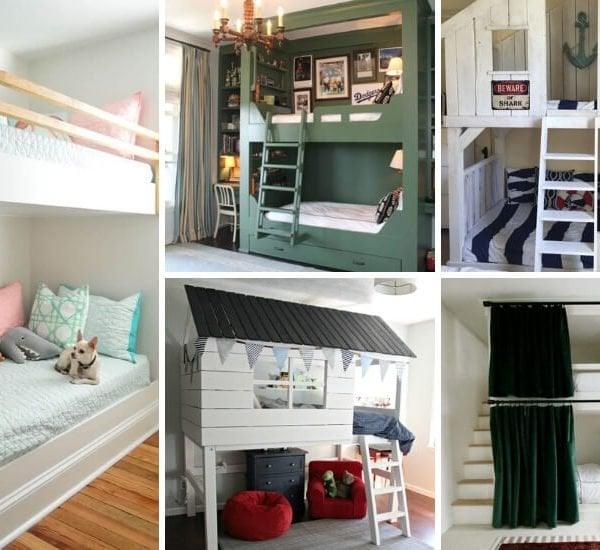 cool DIY bunk bed ideas