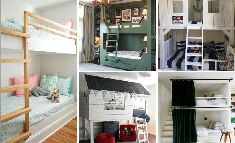 cool DIY bunk bed ideas