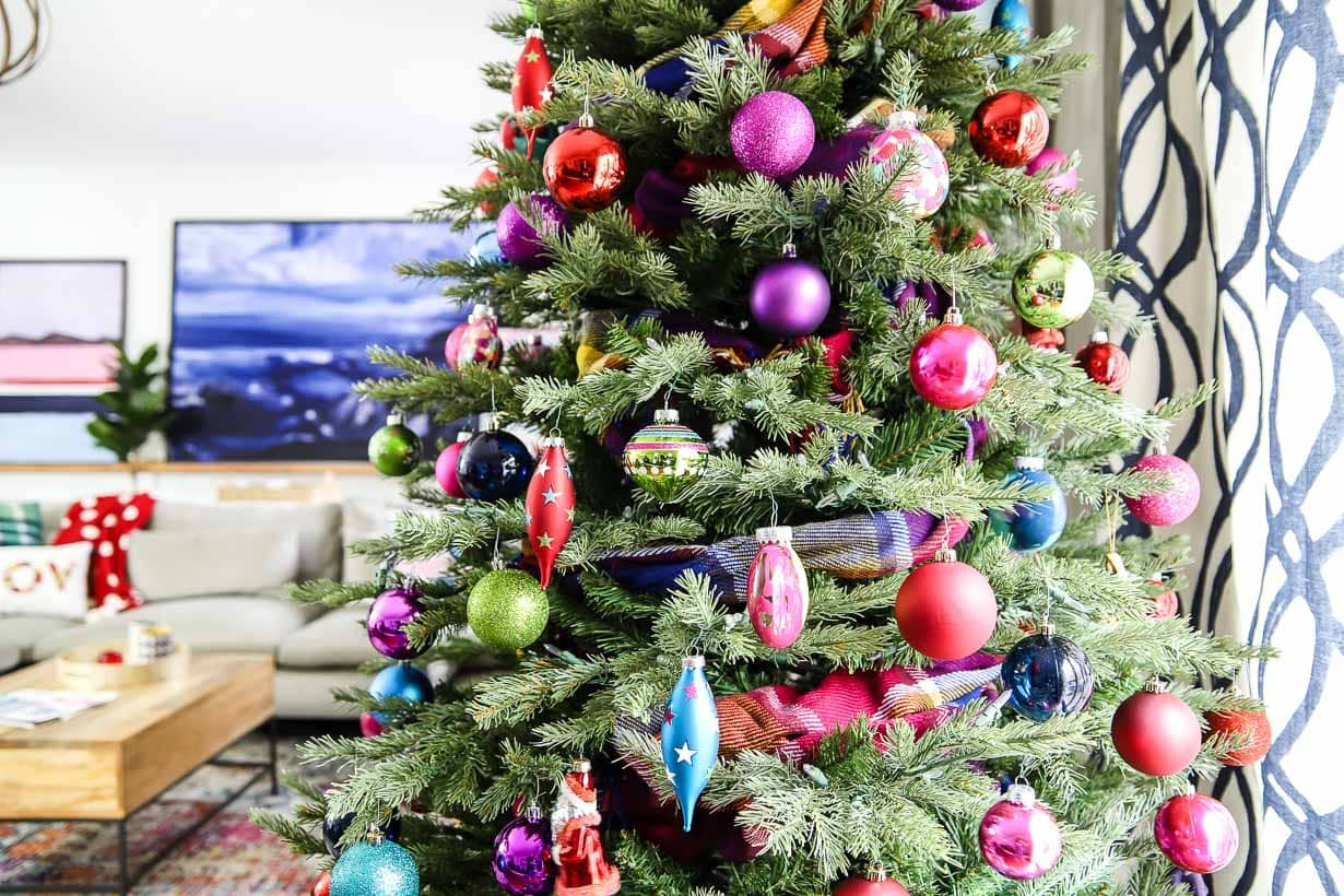 Bright, Bold & Colorful Christmas Tree | Kaleidoscope Living