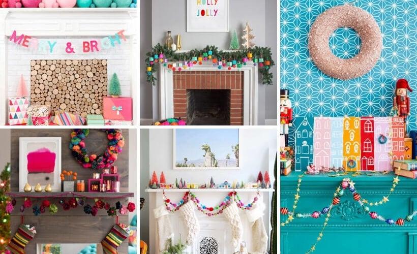 Christmas mantel decor ideas