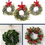 mini Christmas wreath ideas