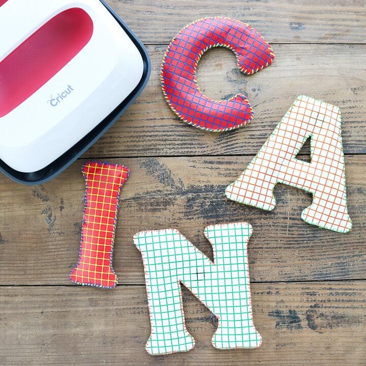Cricut Magnet letters