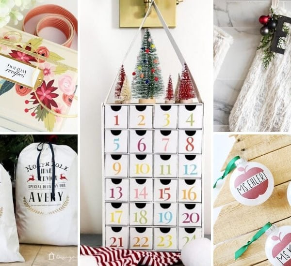 Personalized Christmas Ideas With Cricut