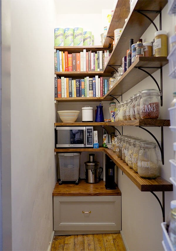 narrow pantry