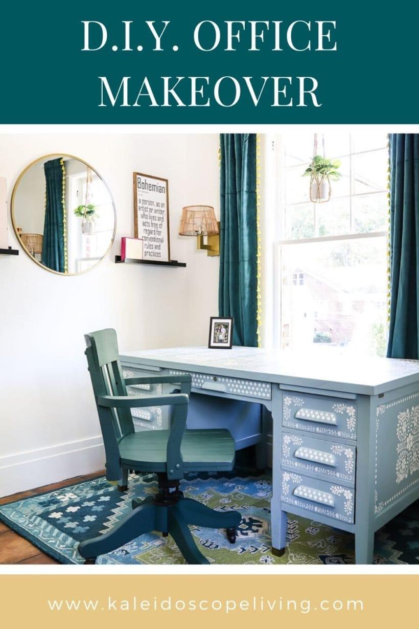 DIY office reveal