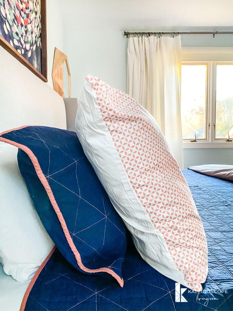 Master Bedroom Progress National Sleep Week Kaleidoscope Living