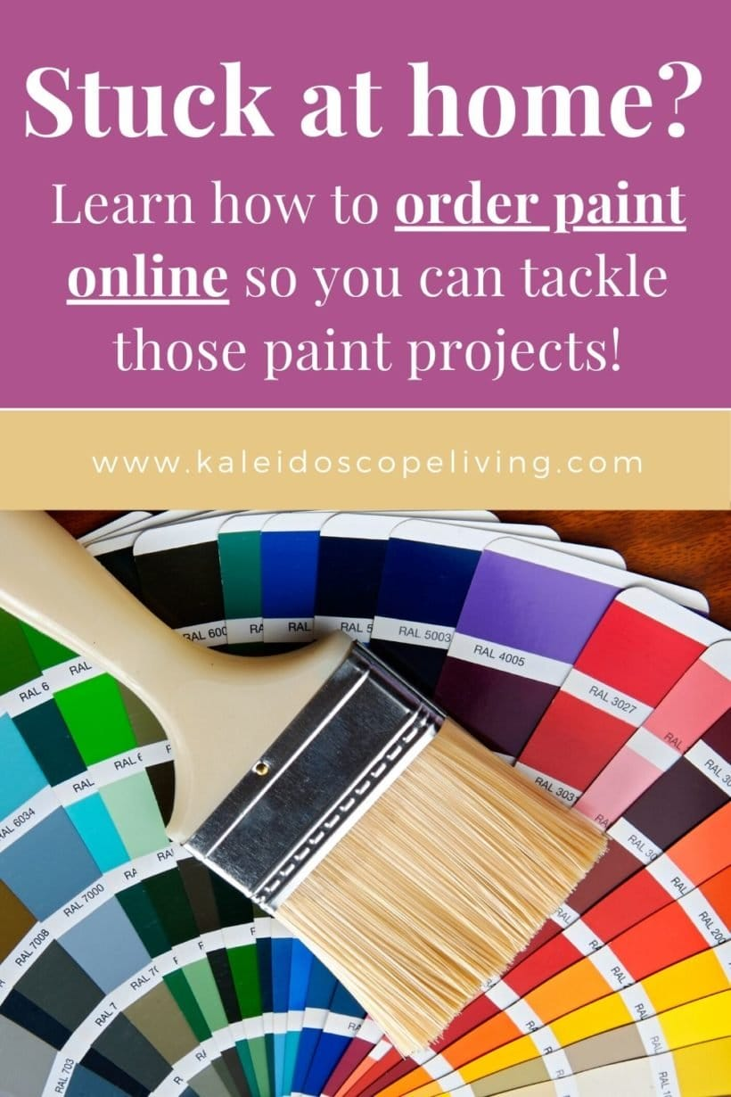 how to order paint online