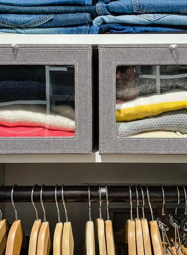 Simple Master Closet Organization