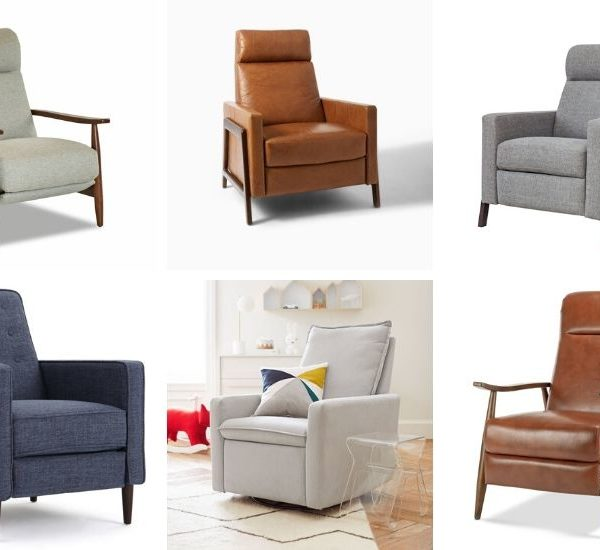 Stylish Recliners You Will Actually Want!