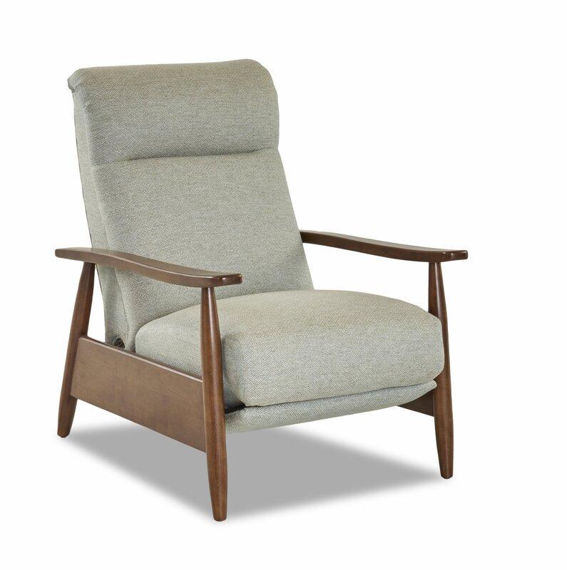 modern gray recliner