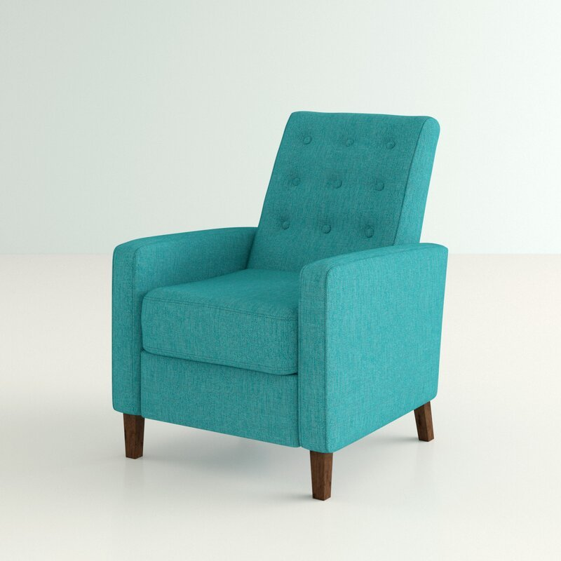 turquoise recliner