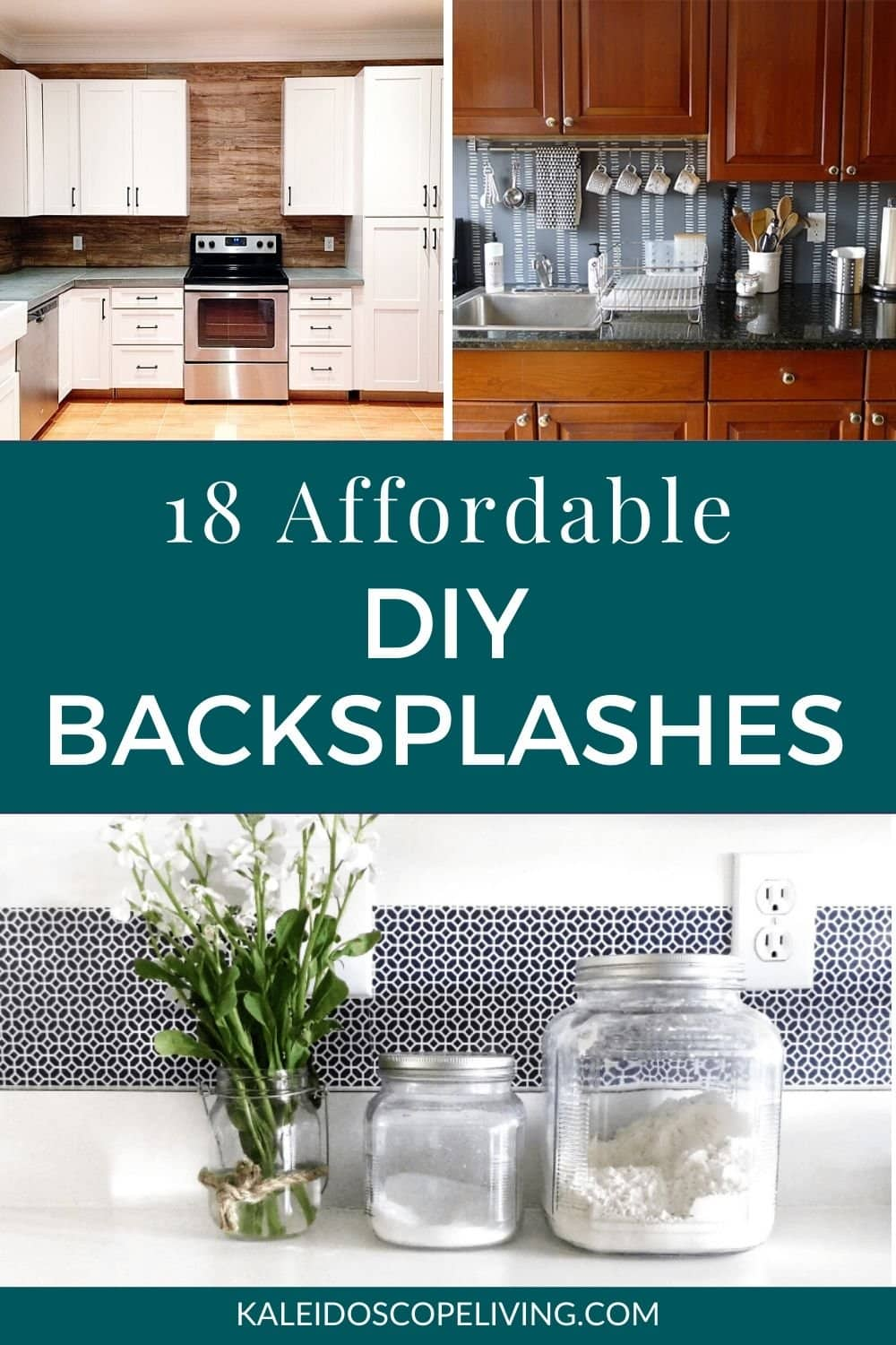 18 Budget Friendly Diy Backsplash Ideas Kaleidoscope Living