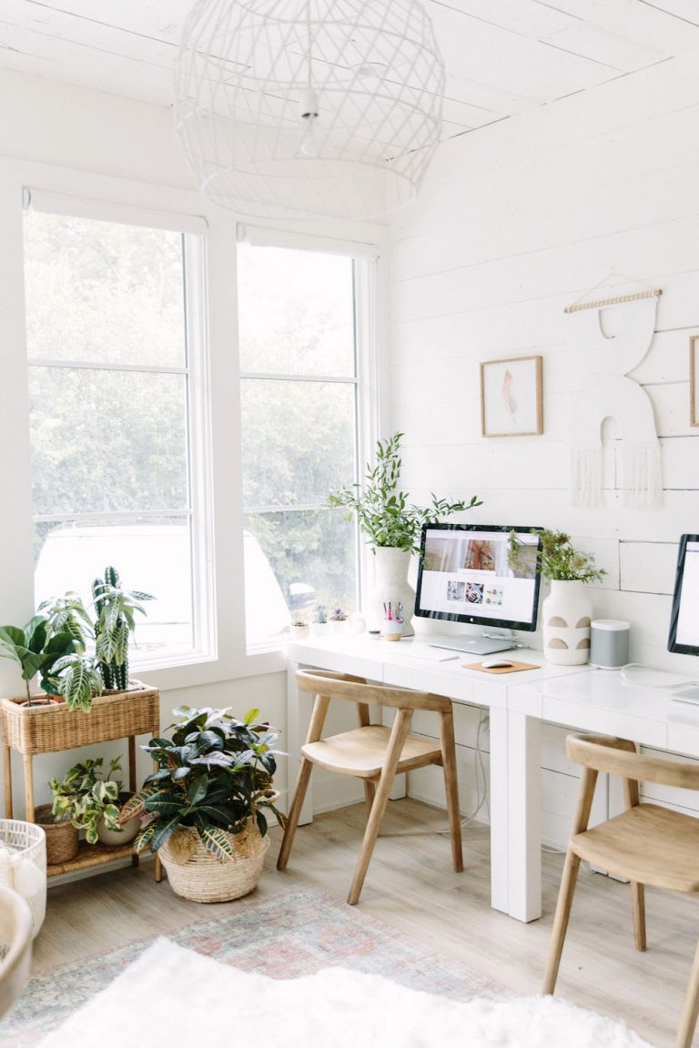 neutral office for two