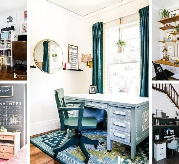 home office ideas you can do right now