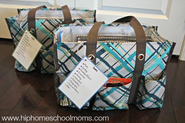 homeschool in a bag