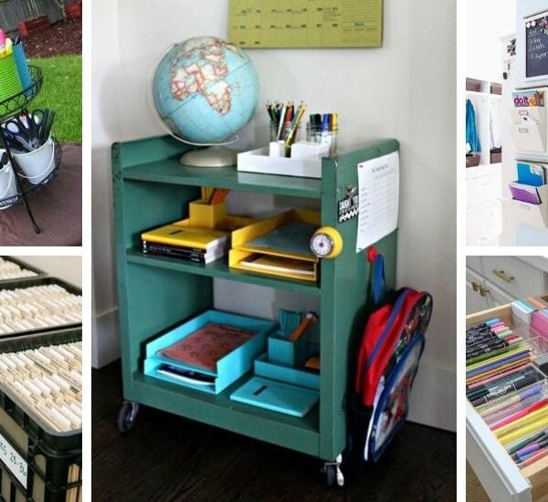 Brilliant Homeschool Organization Ideas