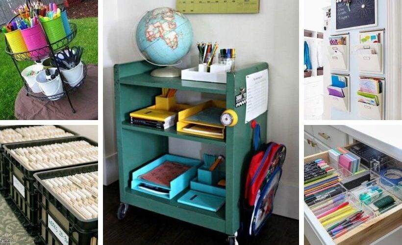 homeschool organization ideas