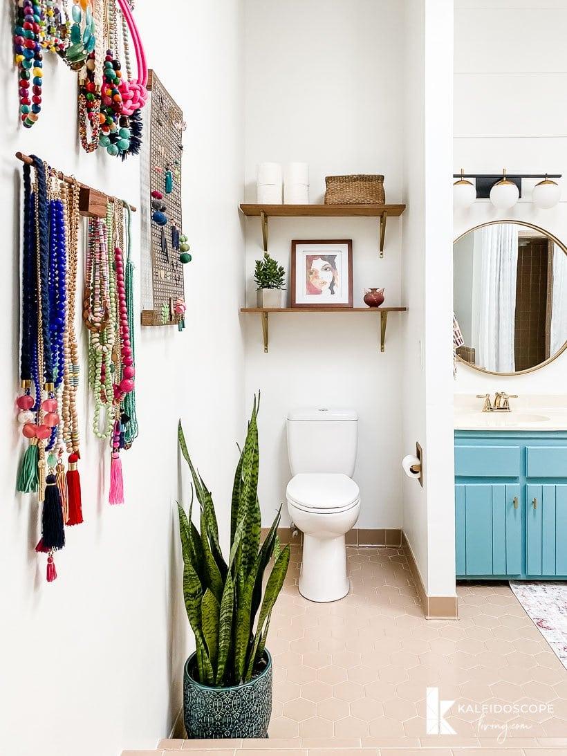 master bathroom budget-friendly makeover