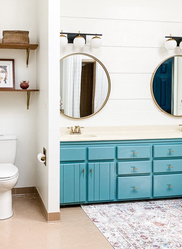 Affordable Master Bathroom Remodel REVEAL
