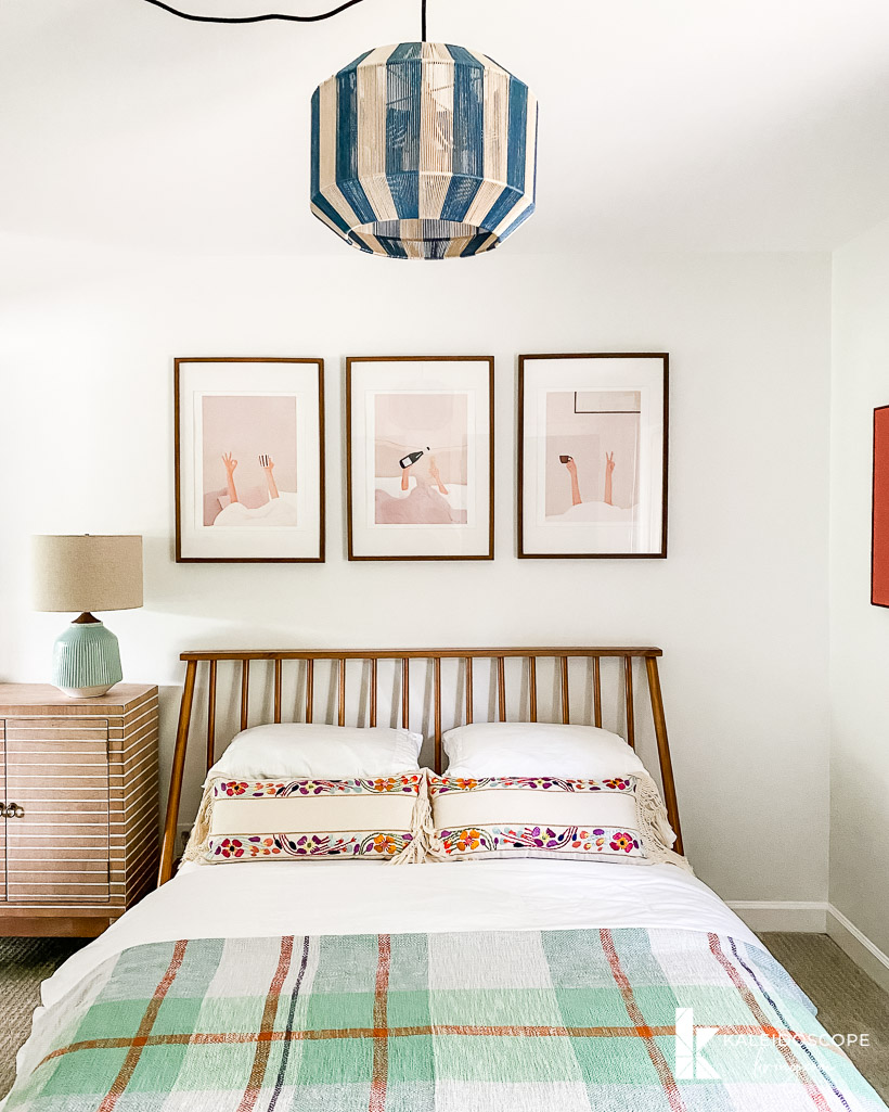modern guest room reveal