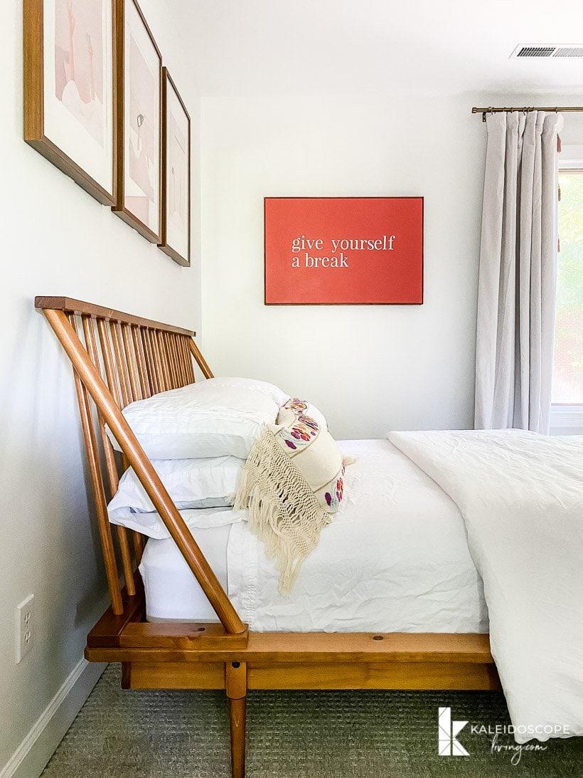 modern guest room makeover