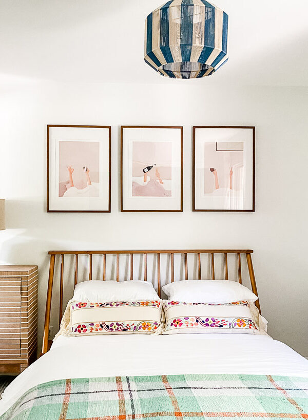 Modern & Fresh Guest Room Reveal