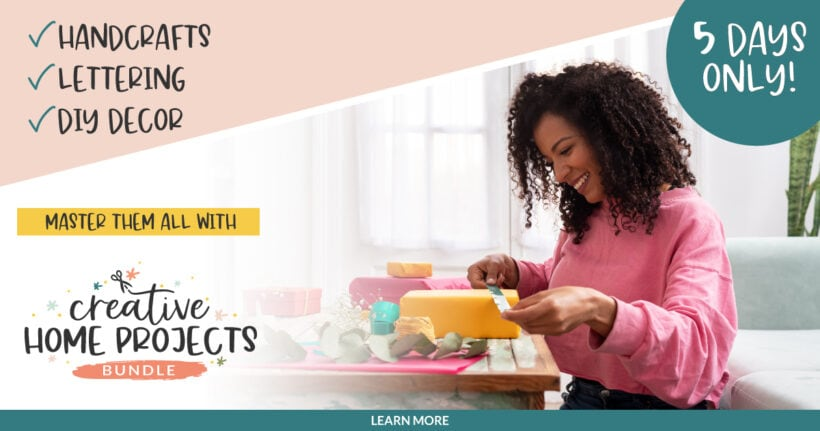 The Creative Home Projects Bundle