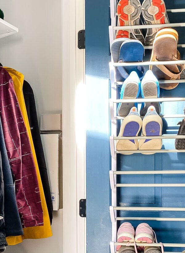 Coat Closet Organization for Under $100