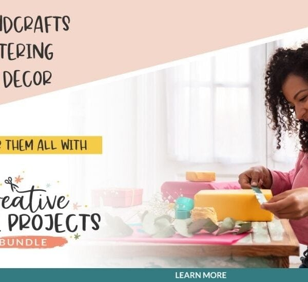 TIME SENSITIVE Resource for Creative Home Projects!