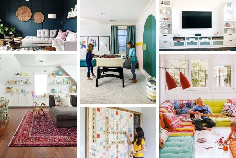 stylish bonus room ideas for families