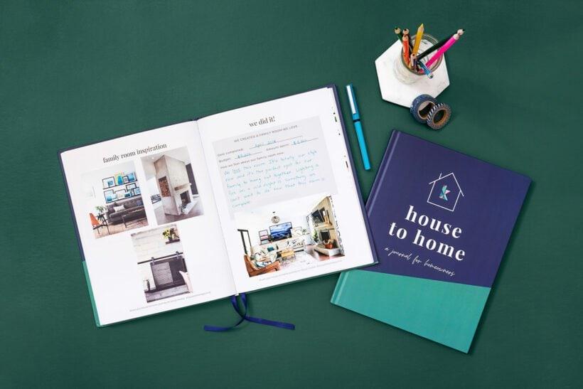 homeowners journal perfect housewarming gift
