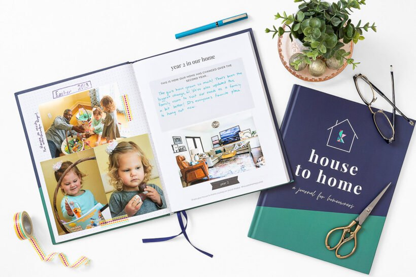 a journal for homeowners house to home