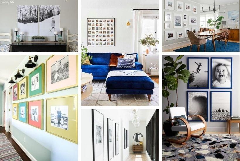 fresh family photo wall ideas