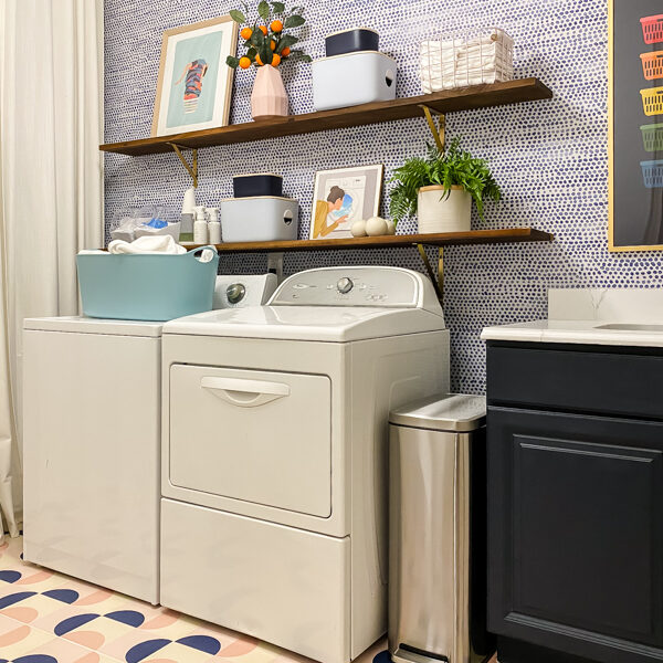 Modern Laundry Room Reveal
