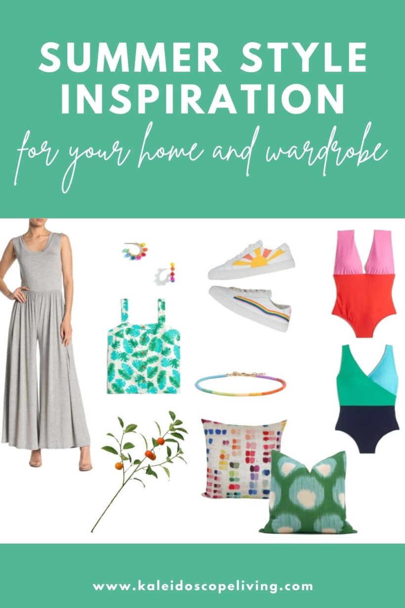 summer style inspiration for your home and wardrobe