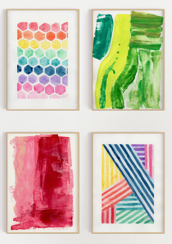The Colorful Art Collection is HERE!