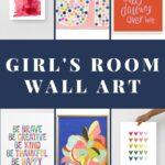 girls' wall art